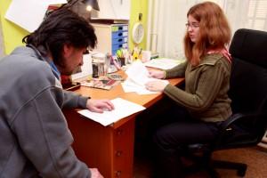 Marie Höferová v rozhovoru s uživatelem