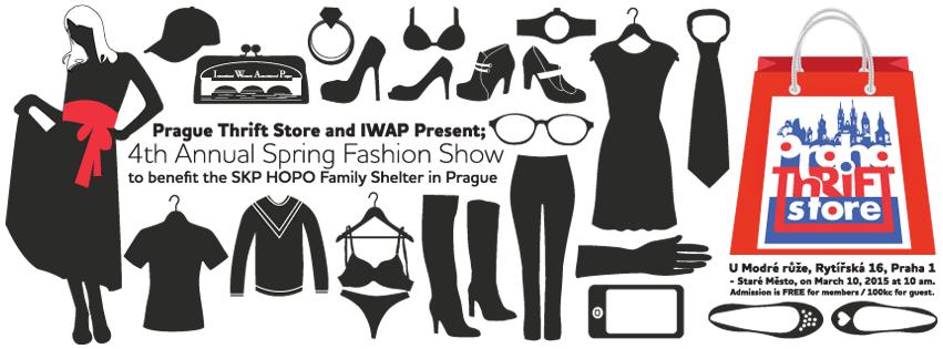 4. ročník charitativní jarní módní přehlídky ve spolupráci s International Women's Association of Prague (IWAP)