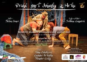 Plakát: Druhá smrt Johanky z Arku