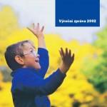 Titulní stránka výroční zprávy Diakonie ECM 2002