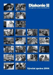 Titulní stránka výroční zprávy Diakonie ECM 2004