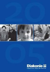 Titulní stránka výroční zprávy Diakonie ECM 2005