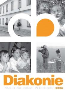 Titulní stránka výroční zprávy Diakonie ECM 2006
