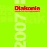 Titulní stránka výroční zprávy Diakonie ECM 2007
