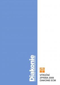 Titulní stránka výroční zprávy Diakonie ECM 2009
