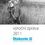 Titulní stránka výroční zprávy Diakonie ECM 2011